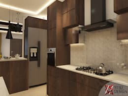 KITCHEN - VIEW 1: modern Kitchen by MAD DESIGN