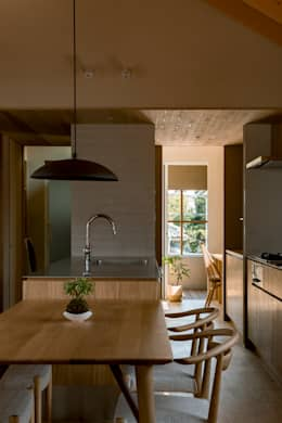 modern Kitchen by HEARTH ARCHITECTS/ハース建築設計事務所
