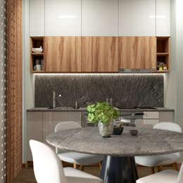 scandinavian Kitchen by WideDesignGroup
