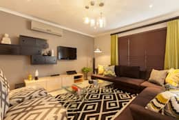 House Nair : modern Living room by Redesign Interiors