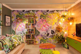 Durban Decorex 2017: tropical Living room by Redesign Interiors
