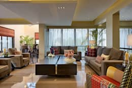 Penthouse: modern Living room by Artistic Design Works