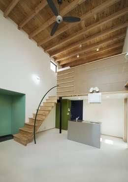 Y's house神撫町Ⅵ: 設計組織アルキメラ 一級建築士事務所 が手掛けたダイニングです。