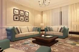 modern Living room by Design.Studio