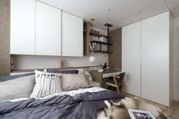台南_住宅空間_德和大邁:  臥室 by Moooi Design 驀翊設計