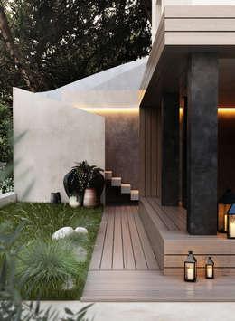 فيلا تنفيذ DZINE & CO, Arquitectura e Design de Interiores