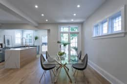 Glen Rd: minimalistic Dining room by Contempo Studio