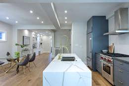 Glen Rd: minimalistic Kitchen by Contempo Studio