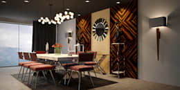 modern Dining room by MFInteriors