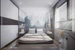 MASTERI THẢO ĐIỀN, D2:  Phòng ngủ by LEAF Design
