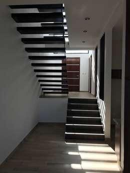 玄關、走廊與階梯 by Sesife Arquitectura