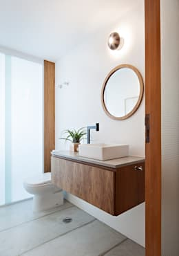 Lavado: Banheiros modernos por ODVO Arquitetura e Urbanismo