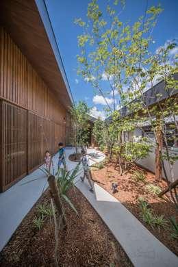 庭: KEITARO MUTO ARCHITECTSが手掛けた庭です。