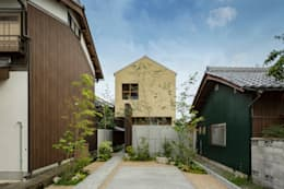 Casas de estilo moderno por HEARTH ARCHITECTS/ハース建築設計事務所