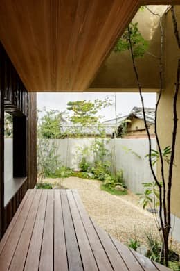 modern Garden by HEARTH ARCHITECTS/ハース建築設計事務所