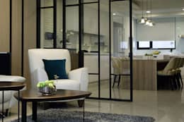 澤序空間設計有限公司의  거실