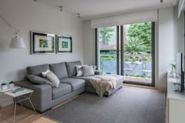 modern Living room by Estibaliz Martín Interiorismo