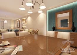 Modern Appartment:  غرفة السفرة تنفيذ Design.Studio