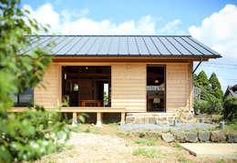 Casas de estilo ecléctico por HAG