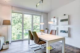 Esszimmer Dachgeschoßausbau: Moderne Esszimmer Von LichtJa   Licht Und Mehr  GmbH