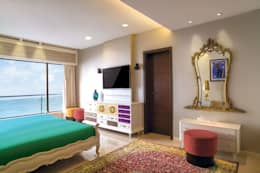 Premium home designs: asian Bedroom by Bric Design Group