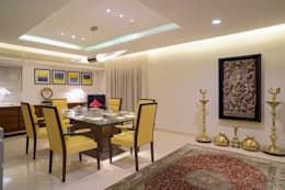 Premium home designs: asian Dining room by Bric Design Group