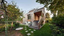 Gartenansicht: moderne Häuser von illichmann-architecture