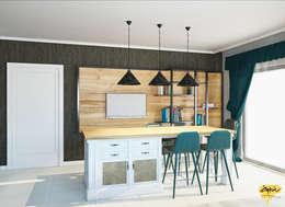 Öykü İç Mimarlık – NN Evi _proje:  tarz Mutfak üniteleri