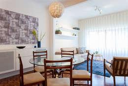 Sala comum: Sala de jantar  por Traço Magenta - Design de Interiores
