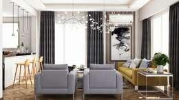 Salon de style de style Moderne par RDW Architects