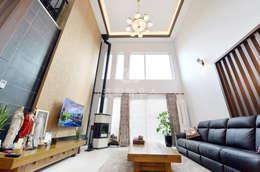 غرفة المعيشة تنفيذ 코원하우스