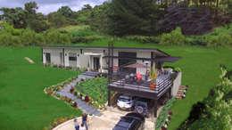 Casas de estilo moderno por Arquitectos y Entorno S.A.S
