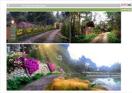 Một số dự án điển hình công ty cổ phần X.Y.Z đã triển khai:  Vườn by Công ty cổ phần X.Y.Z