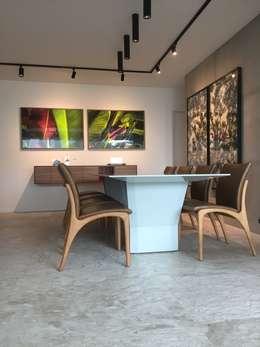 Sala jantar: Salas de jantar modernas por branco arquitetura