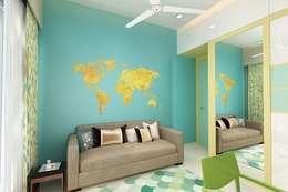 Kids bedroom: modern Nursery/kid's room by The inside stories - by Minal