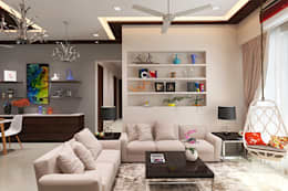 Living room: modern Living room by The inside stories - by Minal