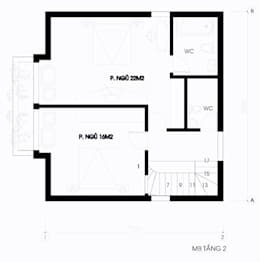 Biệt thự 200m2 cho gia đình 3 thế hệ:   by Kiến trúc ASPACE
