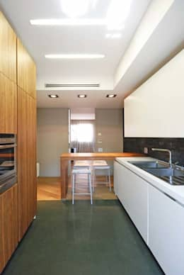 Bếp xây sẵn by silvestri architettura