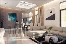 phòng khách:  Phòng khách by DCOR
