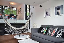APARTAMENTO CIRCUNVALAR: Salas de estilo ecléctico por santiago dussan architecture & Interior design