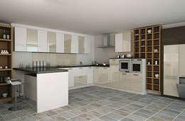 orça ltd.şti. – mutfak dolapları: modern tarz Mutfak