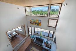 Casa Passalaqua: Salas multimedias de estilo  por GITC
