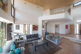 Casa Passalaqua: Livings de estilo moderno por GITC
