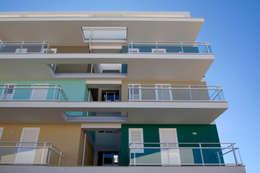 Многоквартирные дома в . Автор – studio di architettura Antonio Giummarra