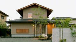 modern Houses by 竹内建築設計事務所