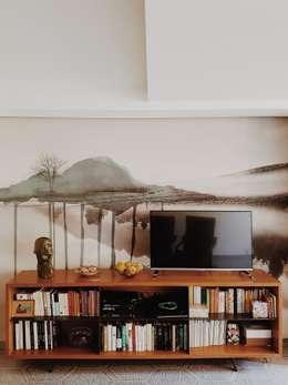 Salas de estilo moderno por smellof.DESIGN