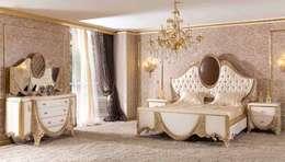 Projekty,  Sypialnia zaprojektowane przez LUXURY FURNITURE
