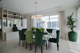 eclectic Dining room by Etcetera Living