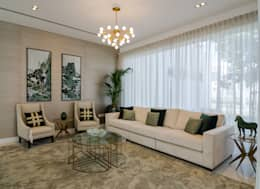 eclectic Living room by Etcetera Living