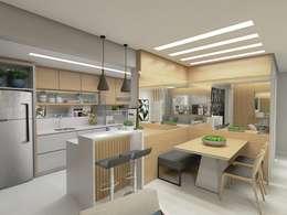 廚房 by Letícia Saldanha Arquitetura